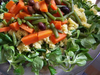 Il cucchiaio di legno insalata di miglio e valerianella for Soncino insalata