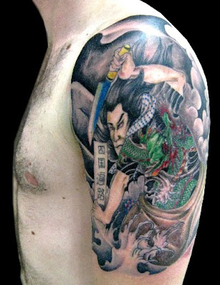 Japanese Samurai Tattoo Another major factor that has led to the popularity