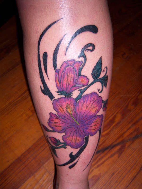 hibiscus flowers tattoo. hibiscus flower tattoos. house