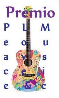 Mi primer premio: Peace,  Love & Music