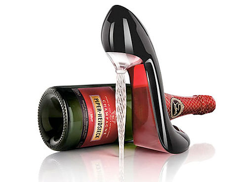LOUBOUTIN for PIPER-HEIDSIECK