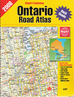 MapArt Ontario Road Atlas