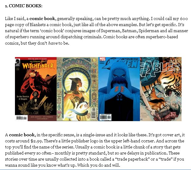 how to start reading comics
