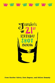 21St Birthday Shot Book Rhymes http://karakarabobera.blogspot.com/2008/11/shot-book.html