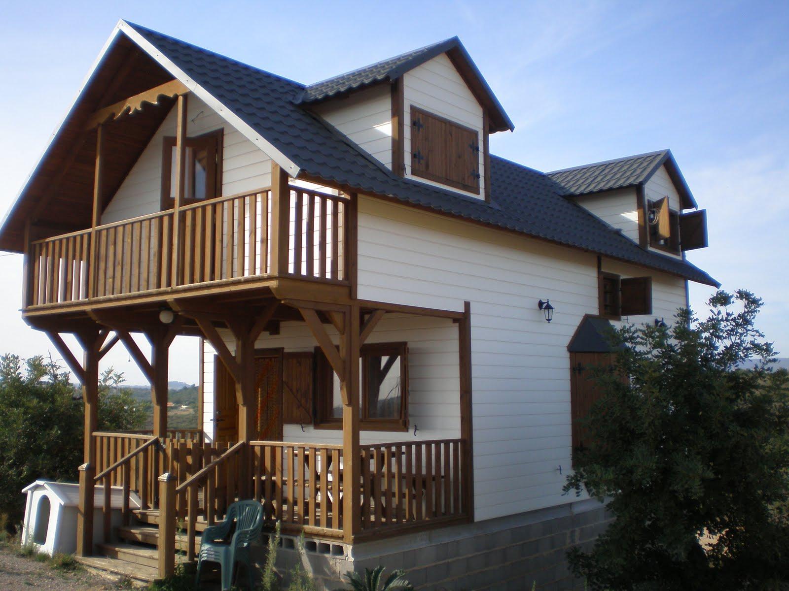 Venta de viviendas y parcelas de particulares venta de - Casas de madera de dos plantas ...
