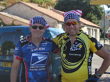 Two US Cyclists in Provence.