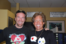 Chris Klug with Bill at a promo event