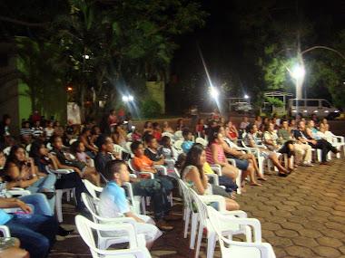 FAMILIA PRESTIGIANDO FESTA DE ENCERRAMENTO