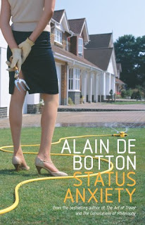 Cover of book entitled Status Anxiety