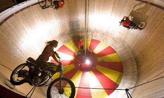 Riders on the Wall of Death