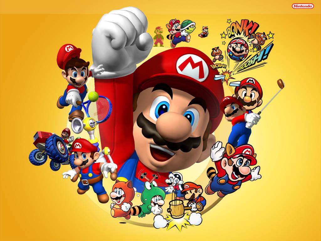 Megapost Super Mario Bros
