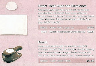 Paper punch and sweet treat cups