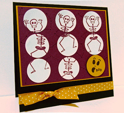 halloween card in Stampin' Up!'s In Colors