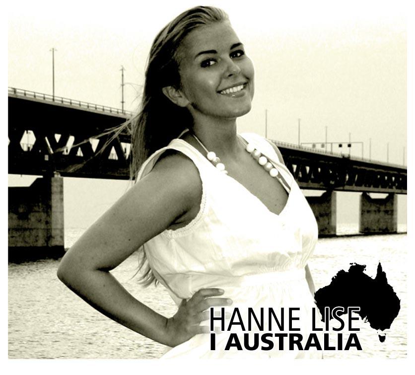 Hanne Lise i Australia