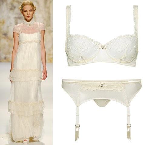 Peinados ropa interior para novia seg n el vestido for Ropa interior de novia