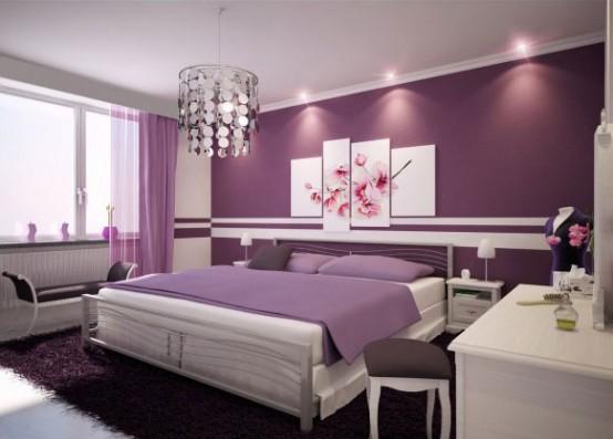 decoracion+color+violeta+2 Elementos clave para el diseño interior con éxito