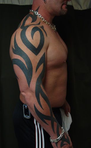 tribal tattoos for guys. tribal tattoos for men arms.