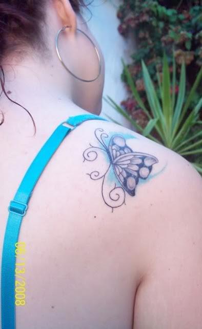 foto tatuaje mariposa. tatuajes de mariposas en el pie. foto tatuaje mariposas.