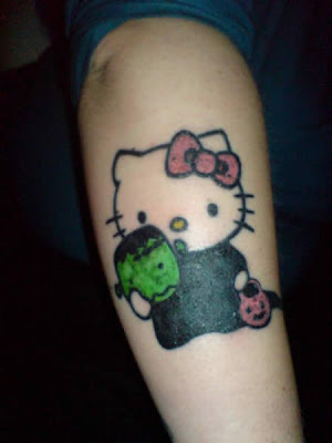 Hello Kitty Strange Tattoos