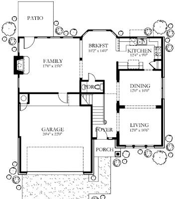 Plano de casa de 2 pisos 3 habitaciones y 200 metros cuadrados planos de casas y - Planos casas planta baja ...