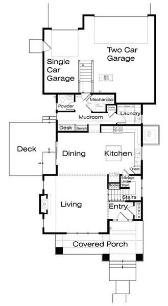 Home surgery plano de casa de 2 pisos 3 habitaciones y - Planos de casas planta baja ...