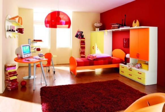 Modernos dise os de habitaciones para ni os y ni as - Habitaciones pintadas para ninos ...