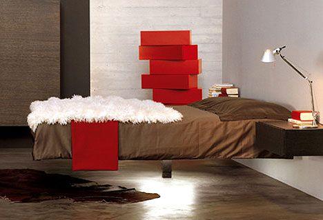 Decoracion dise o la cama voladora for Cama voladora
