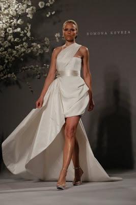 Vestido de novia corto sexy