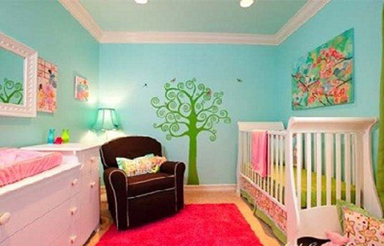 decoracion de interiores dormitorios modernos de bebes - Decoracion De Interiores Dormitorios