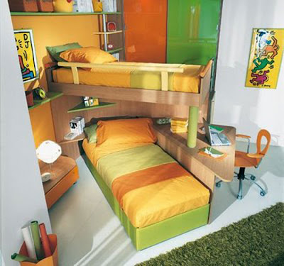 DECORACION DE UN DORMITORIO COMPARTIDO