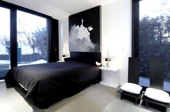 Decoracion Habitaciones Blancas ~ Decoracion Dise?o DORMITORIOS MINIMALISTAS BLANCO Y NEGRO