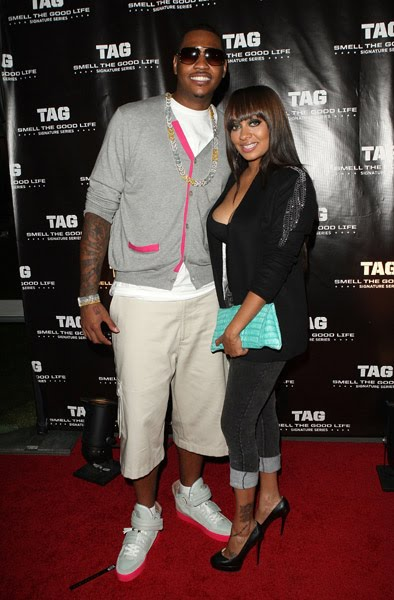 carmelo anthony tattoos 2010. July 10, 2010 Carmelo and LaLa