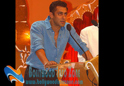 Salman Khan the IIFA Charity Initiative brand ambassador
