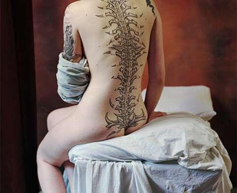 Victoria Beckham Neck Tattoo Design Tattoo enthusiasts always seem to want