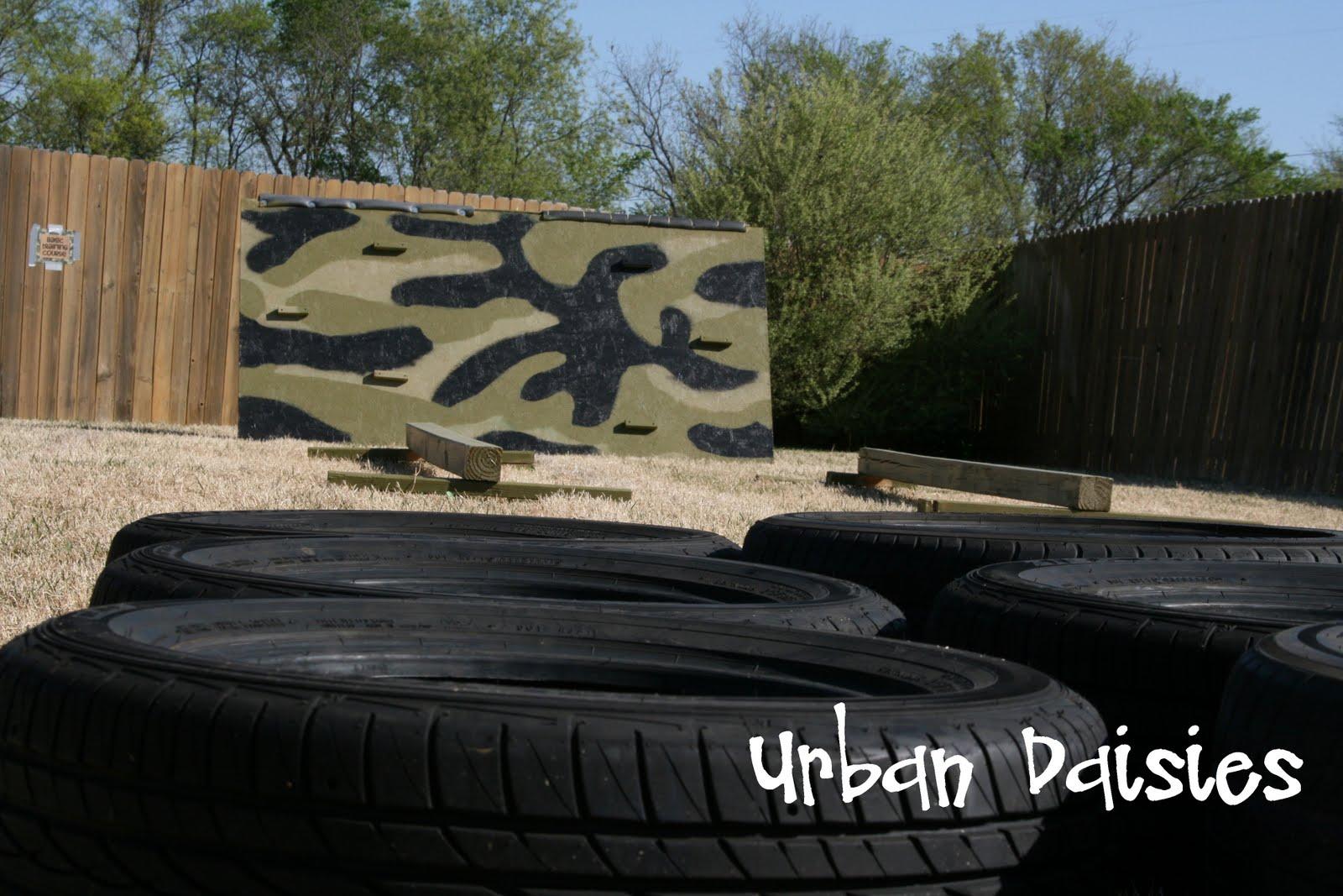 Urban Daisies: Army Birthday Party