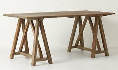 Sawhorse Table 798