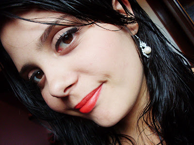 redlip Makeup do dia
