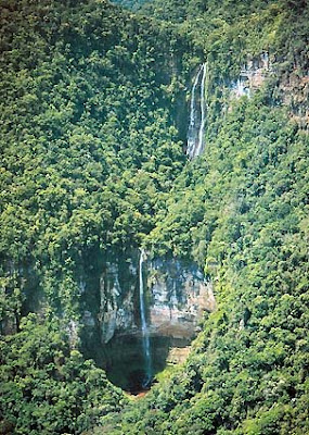 Air Terjun Tres Hermanas, Cataratas las