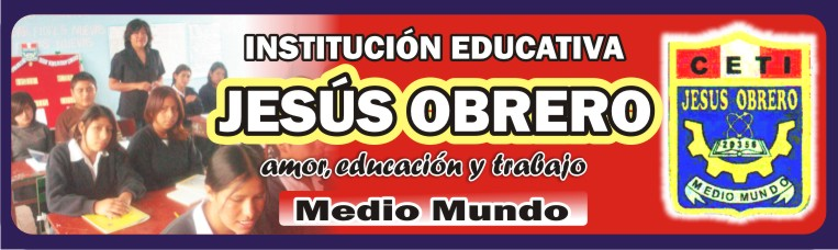 "EDUCACIÓN - I.E. ""JESÚS OBRERO"""