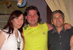 Violeta, Leo y Juancito