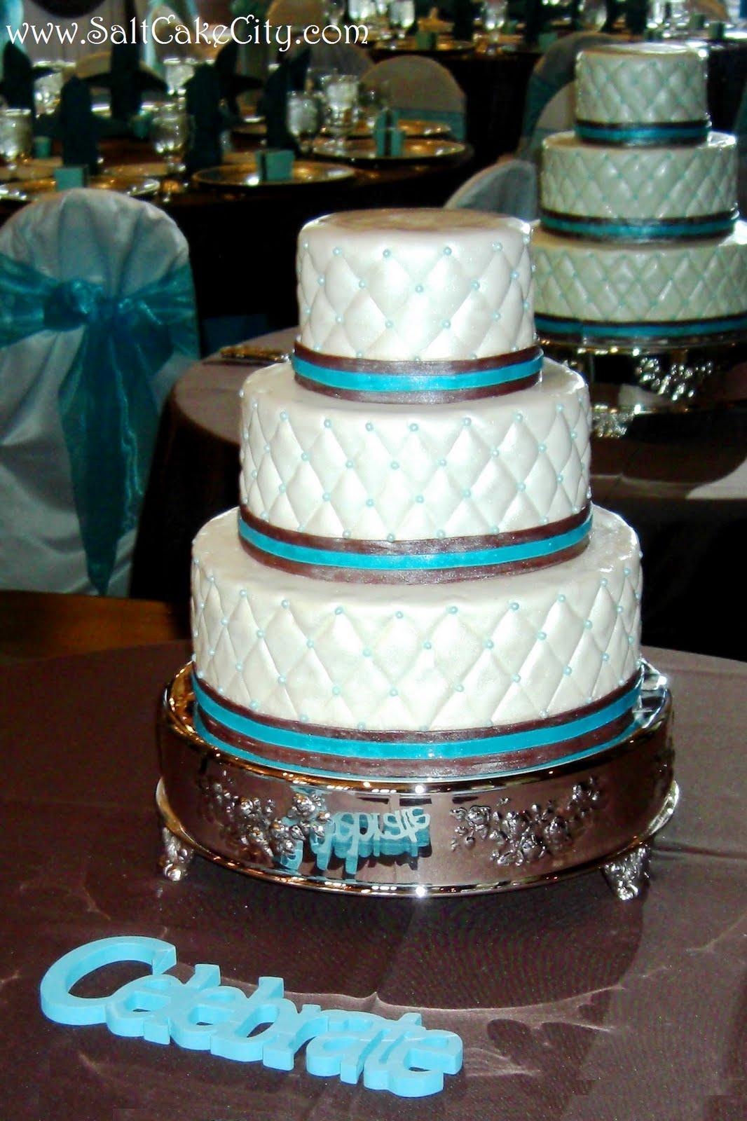Pin Turquoise Brown White Cake Elegant Cheesecakes Cake on