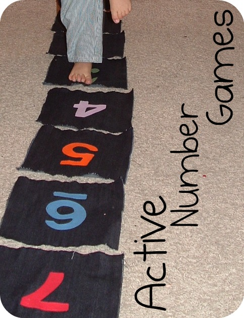 Walk the Number Line Activity for Recognizing Numbers ...