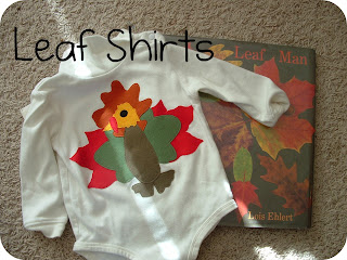 shirts made with leaf shapes