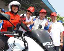 The 3rd Astra Honda Safety Riding Instructors Competition Gerakan Bersama Tertib Berlalu Lintas