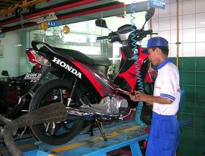 Tips Membuat Motor Honda Tetap Sehat
