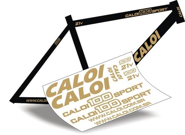Adesivo De Parede Feminino ~ Stickers Design Adesivo Bike Caloi 100 Sport