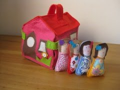 House with 4 Dolls (sold)