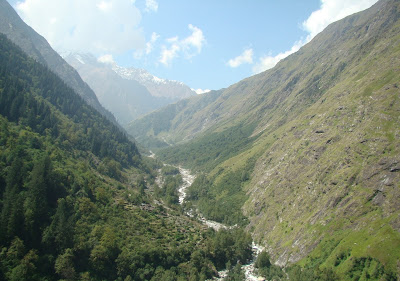 Way to Badrinath