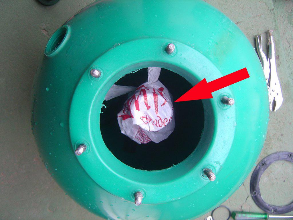 Tio beto blog como trocar a areia do filtro da piscina - Piscina da interno ...