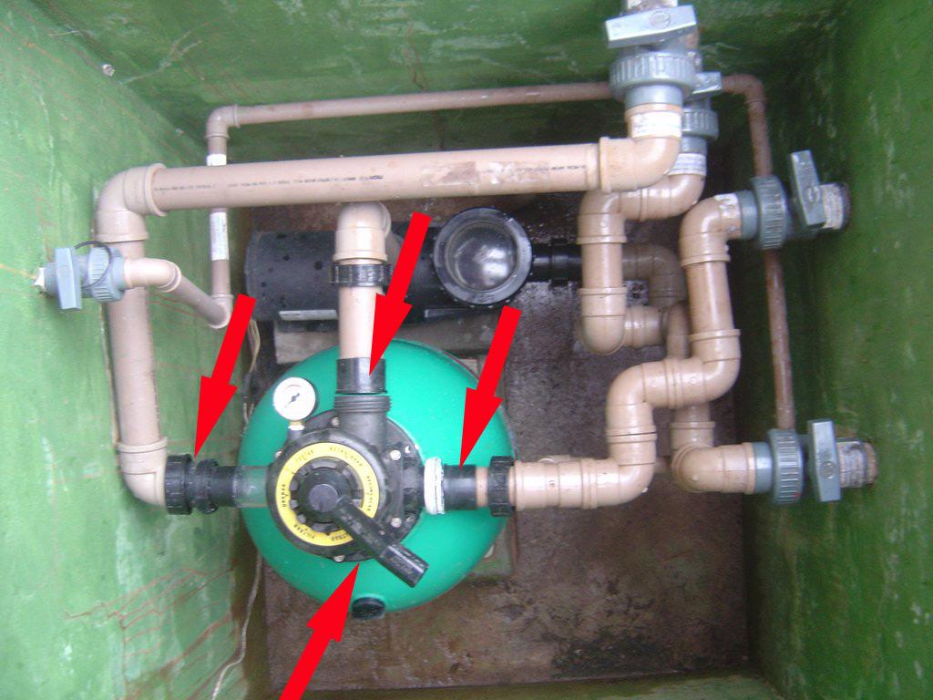 Tio beto blog como trocar a areia do filtro da piscina for Filtro de piscina